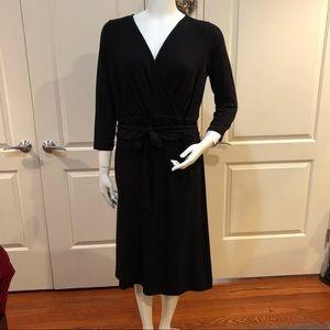 Talbots Faux Wrap Dress